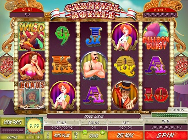Carnival Royale Slot Game