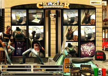 Crazier Jewelry Slot Sheriff