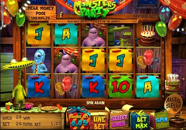 Monsters Party Slot