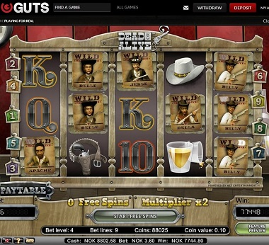 NetEnt Win Guts Casino