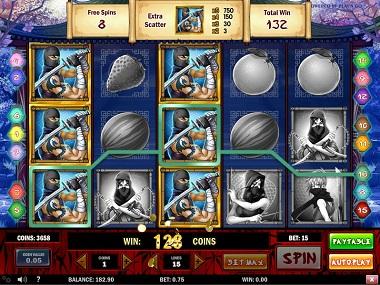 Ninja Fruits Slot Game