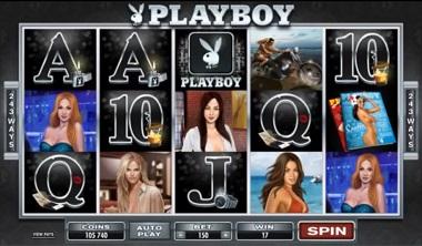 Playboy Slot Microgaming Game