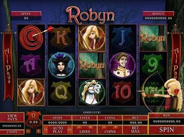 Robyn Slot Genesis