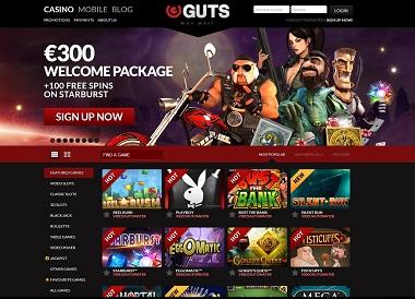 Guts NetEnt Casino