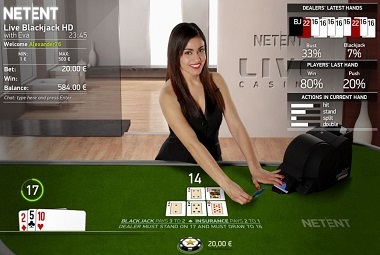 Live Blackjack Common NetEnt