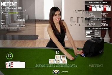 Live Blackjack Common NetEnt