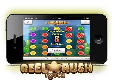 Reel Rush Touch NetEnt