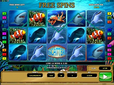 Riches of the Sea Slot Game