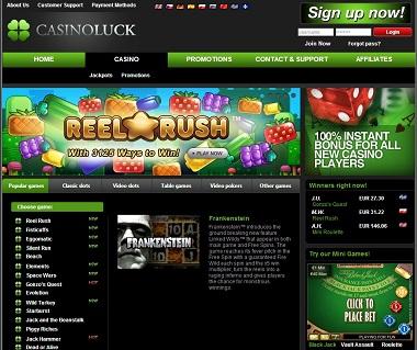 CasinoLuck NetEnt