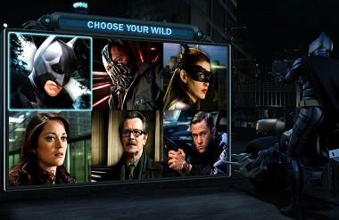 Dark Knight Rises Microgaming