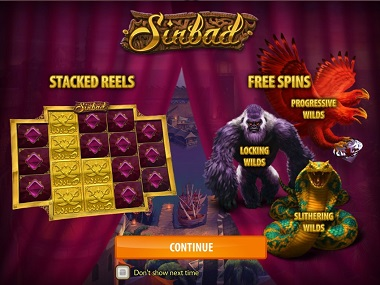 sinbad casino game with bonus spins
