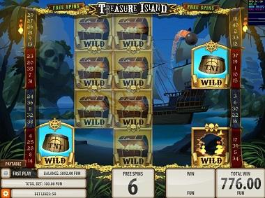 Treasure Island Slot Quickspin
