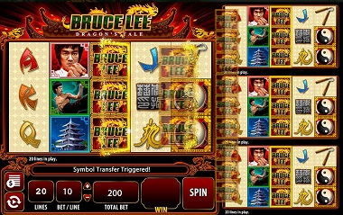 Bruce Lee Dragon's Tale Slot Game
