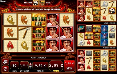 Bruce Lee Dragon's Tale Slot Williams