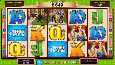 Georgie Porgie Slot Game Reels