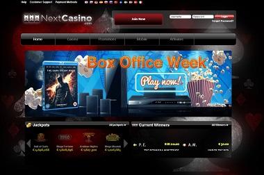 NextCasino Box Office