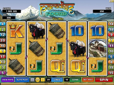 Paradise Found Slot Microgaming