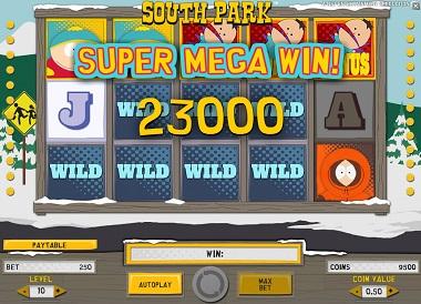 Super Win South Park NetEnt