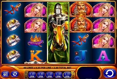 Black Knight 2 Slot Screenshot