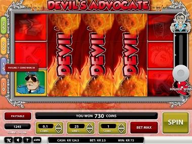 Devil's Advocate Slot