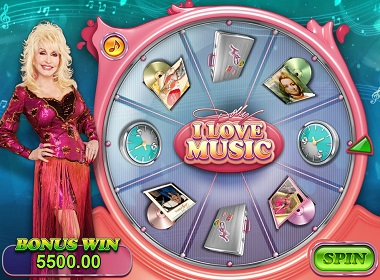Dolly Slot Bonus Wheel