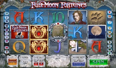 Full Moon Fortunes Video Slot