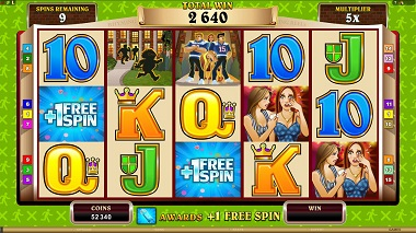 Georgie Porgie Video Slot Microgaming