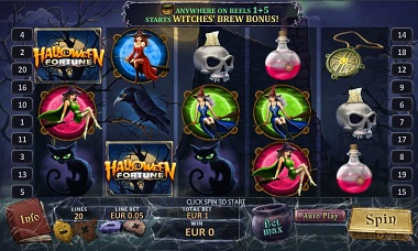Halloween Fortune Slot Screenshot