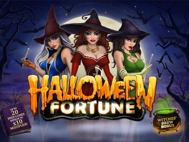 Halloween Fortune slot logo