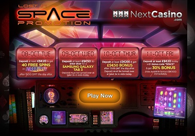 Lost in Space Promo NextCasino