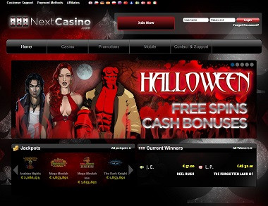 NextCasino Halloween Promotions
