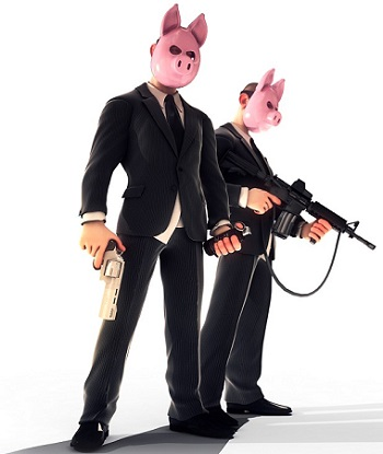 Piggy Bank Sheriff Slot