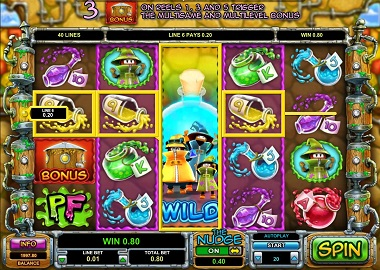 Potion Factory Slot Game
