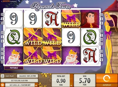 Rapunzels Tower Slot Machine - Play Free Casino Slot Games