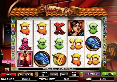 Spanish Eyes Casino Game