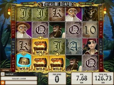 Treasure Island Quickspin Slot