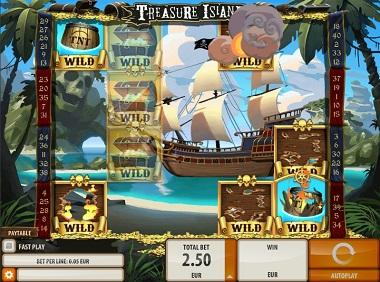 Treasure Island Slot Game Quickspin