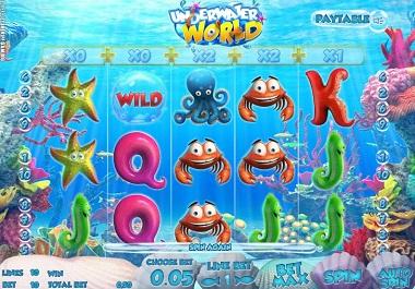 underwater world slot screenshot