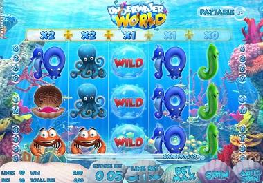 underwater world slot sheriff