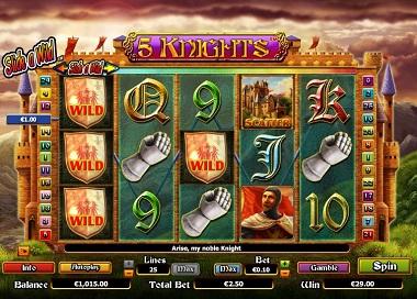 5 Knights Slot Screenshot