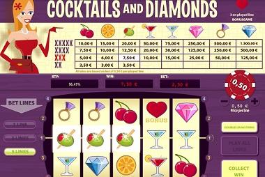 Cocktails and Diamonds Slot
