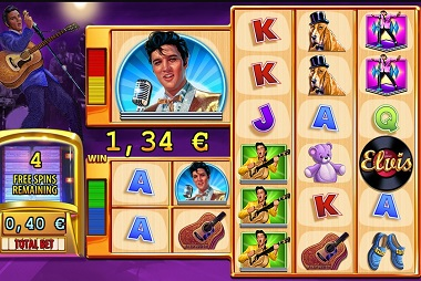 Elvis the King Lives Slot Williams