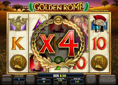 Golden Rome Slot Game Leander