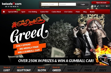 Greed Betsafe Promotion