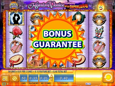 Hearts of Venice Bonus Guarantee