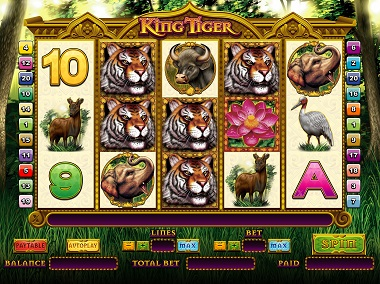 King Tiger Slot Screenshot