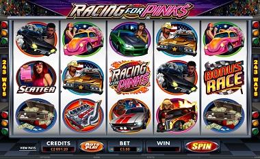 Racing For Pinks Screenshot