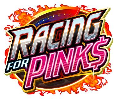 Racing For Pinks Slot Logo