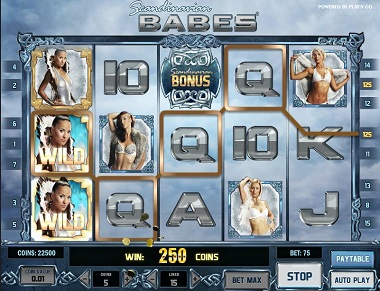 Play Scandinavian Babes Slots Free With Here