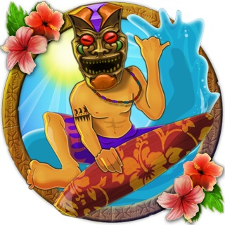 Tiki Wonders Surfer Symbol